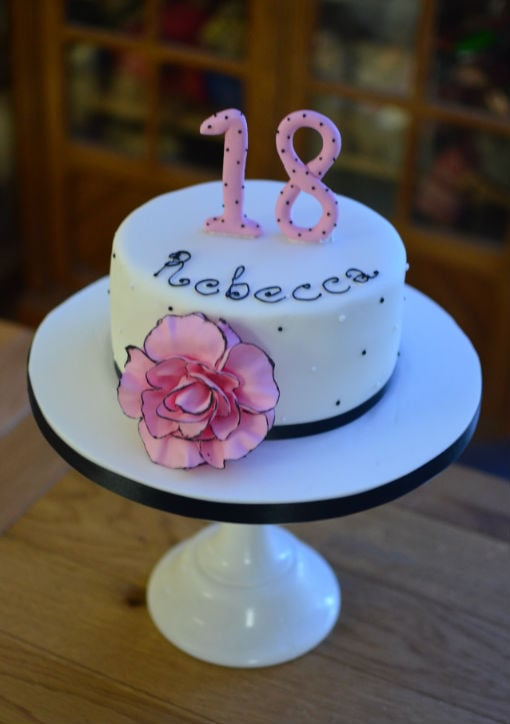 Chanel inspired cake