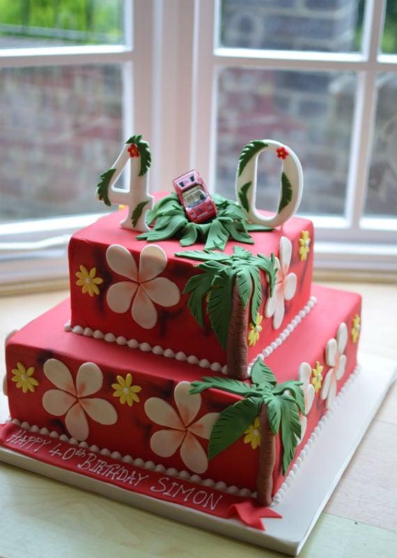 Magnum PI cake