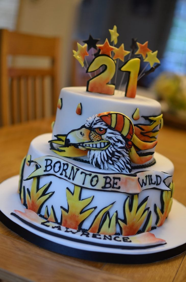 Born to be wild birthday cake