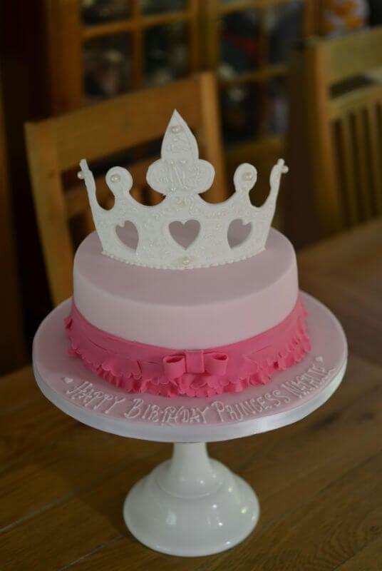 Girlfriend princess cake