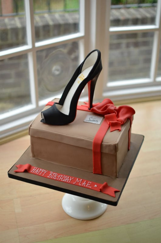 Louboutin cake Posted to Pinewood studios