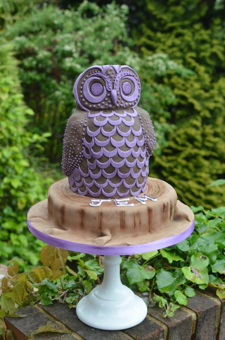 3D Owl cke