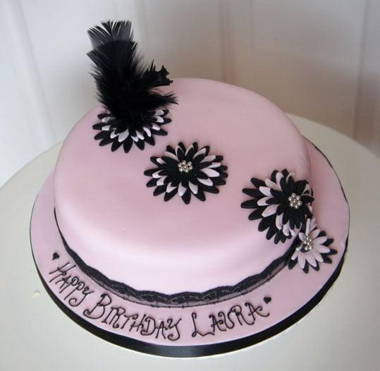 black-feather-cake