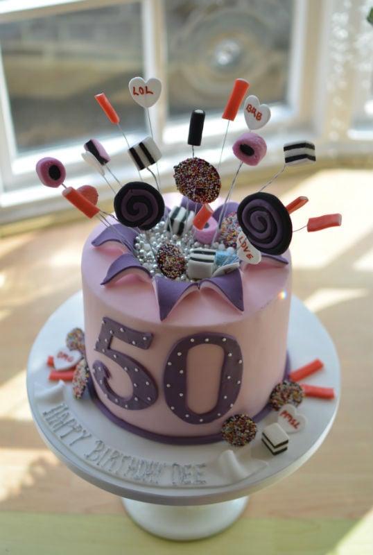 Sweetie birthday cake