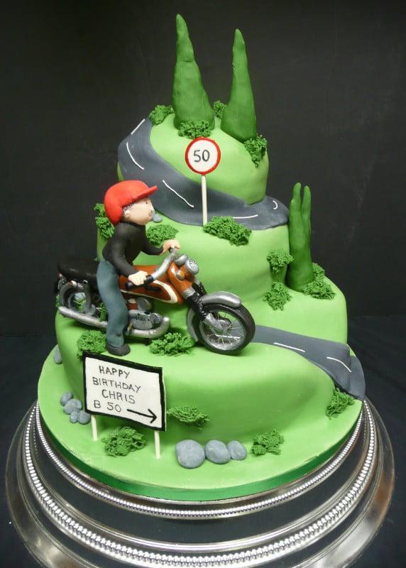 Birthday Cakes for Him, Mens and Boys Birthday Cakes ...