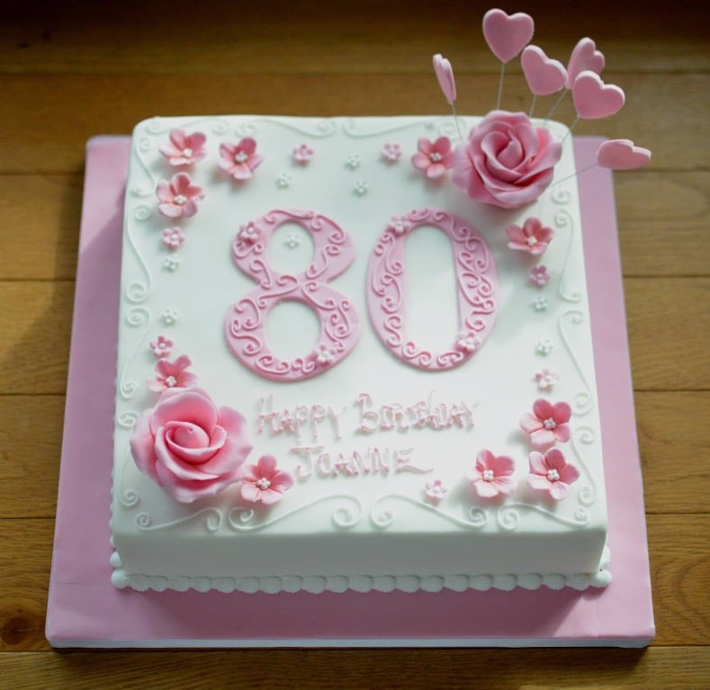 Birthday Cakes for Her, Womens Birthday Cakes, Coast Cakes, Hampshire ...
