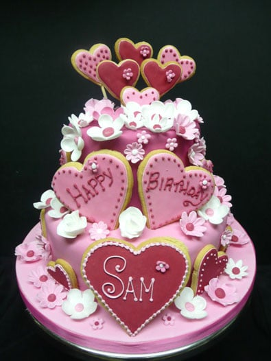 Love Heart Cake Images : Birthday cakes, Novelty Birthday Cakes, Hampshire and ...