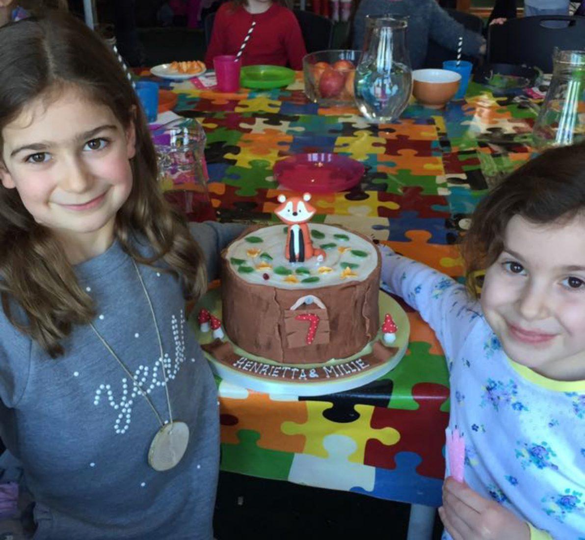 Gorgeous birthday girls.