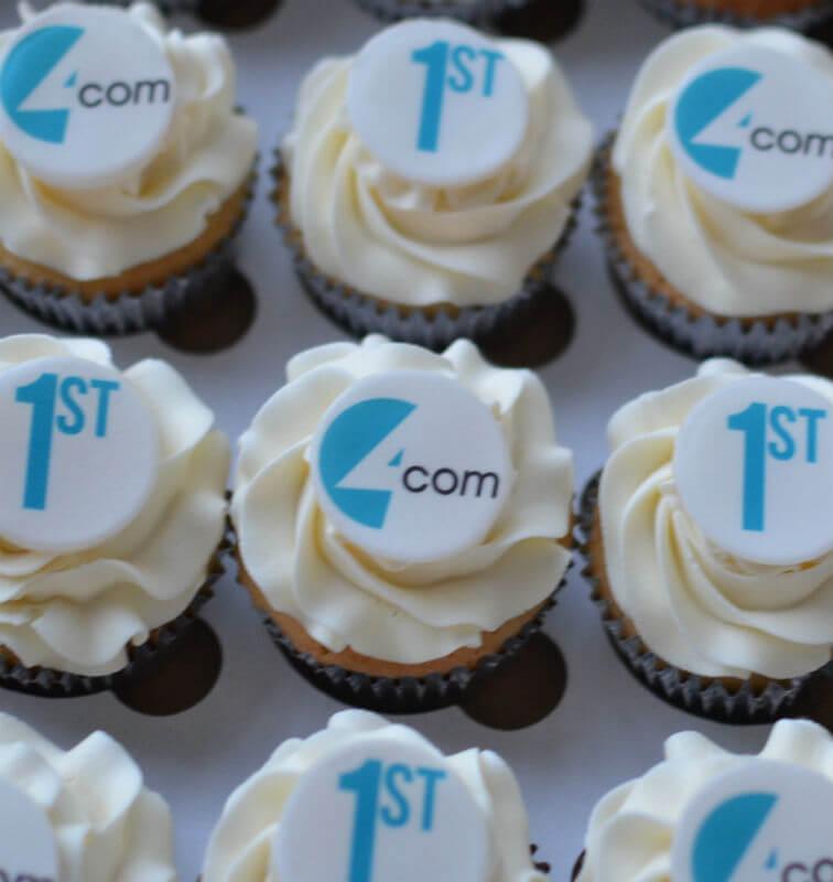 4 Com corporate cupcakes