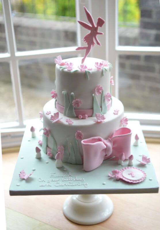 2 Tier version of fairy cake.