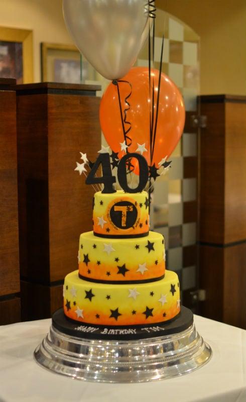 Corporate/birthday cake