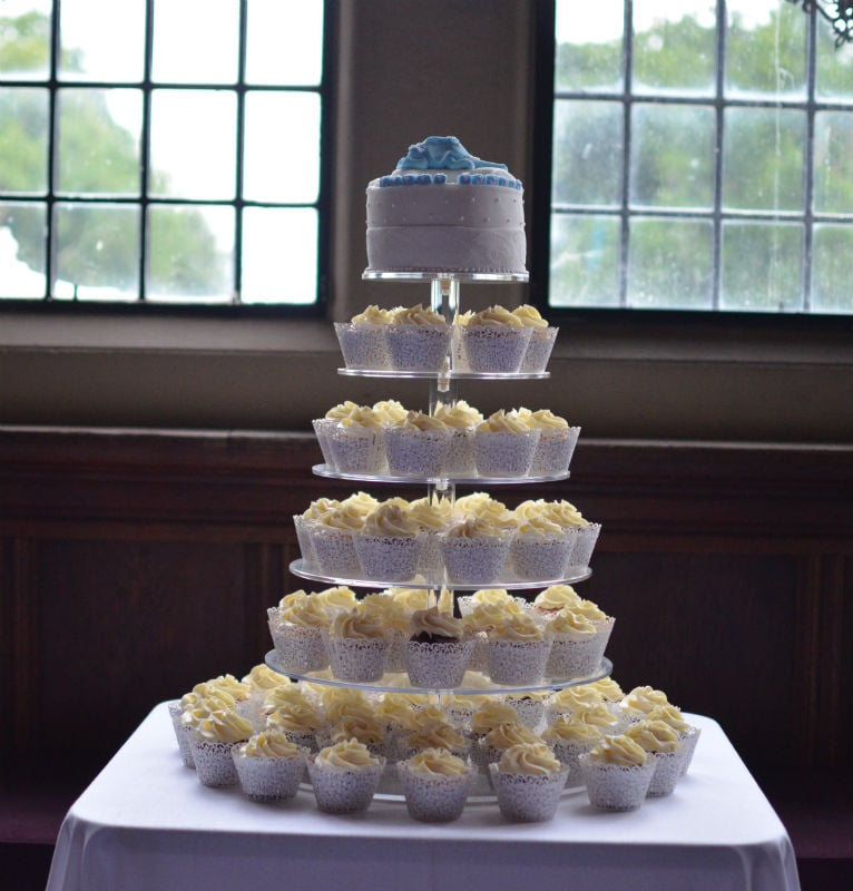 Cupcakes at Rhinefield House