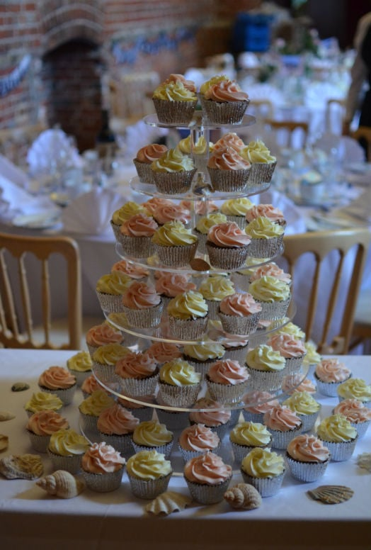Carrot cupcakes at Highcliffe Castle