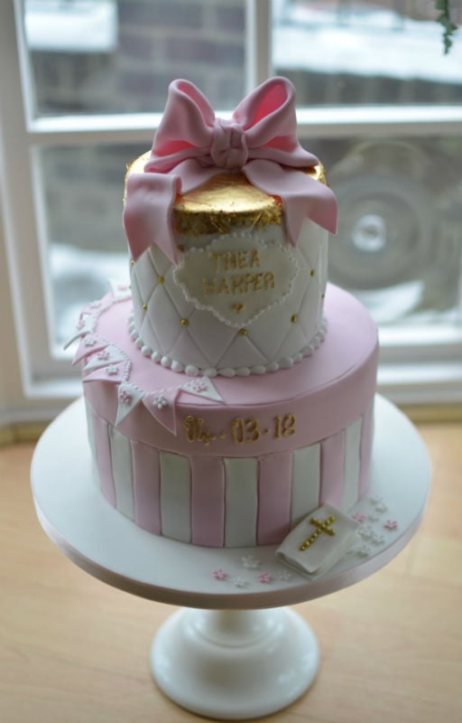 Christening Cakes And Baptism Cakes Hampshire Dorset