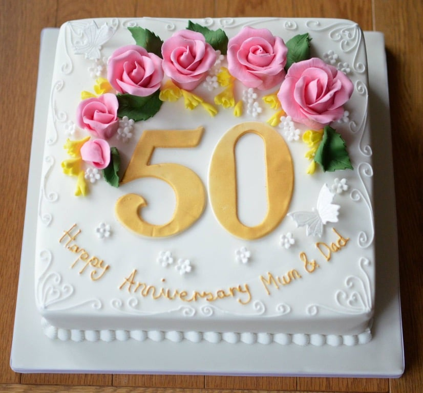 images 50th anniversary cakes