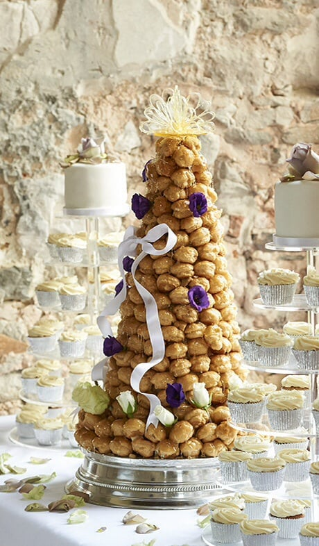 Croquembouche at Lulworth, photo by Kevin Wilson